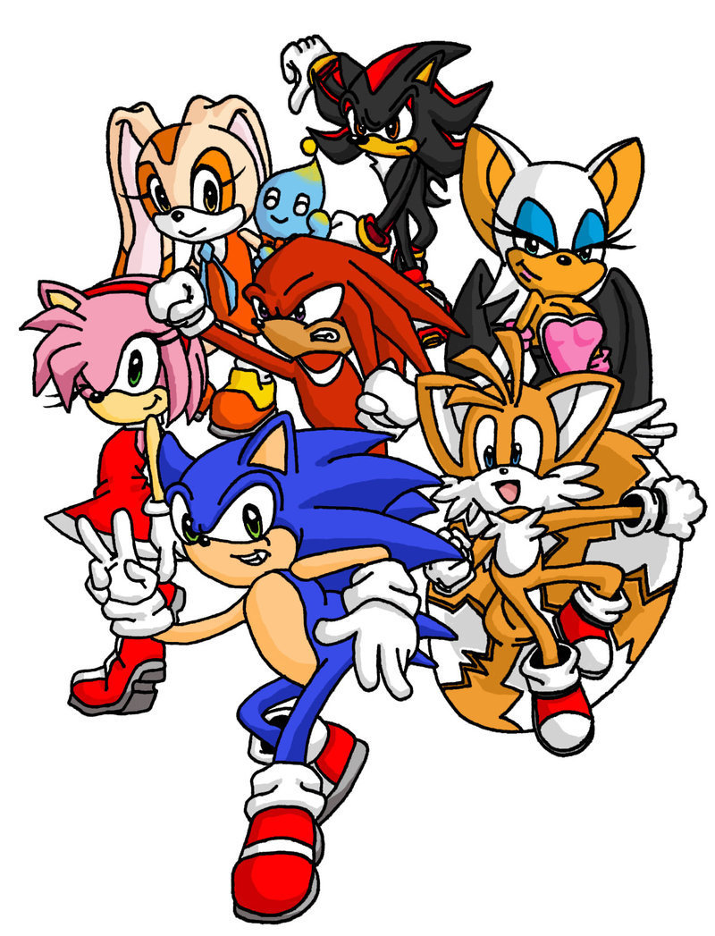 Holi 3d Wallpaper Name Download Sonic And Friends Wallpaper Gallery