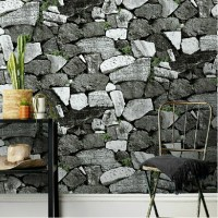 Download Stone Wallpaper Living Room Gallery