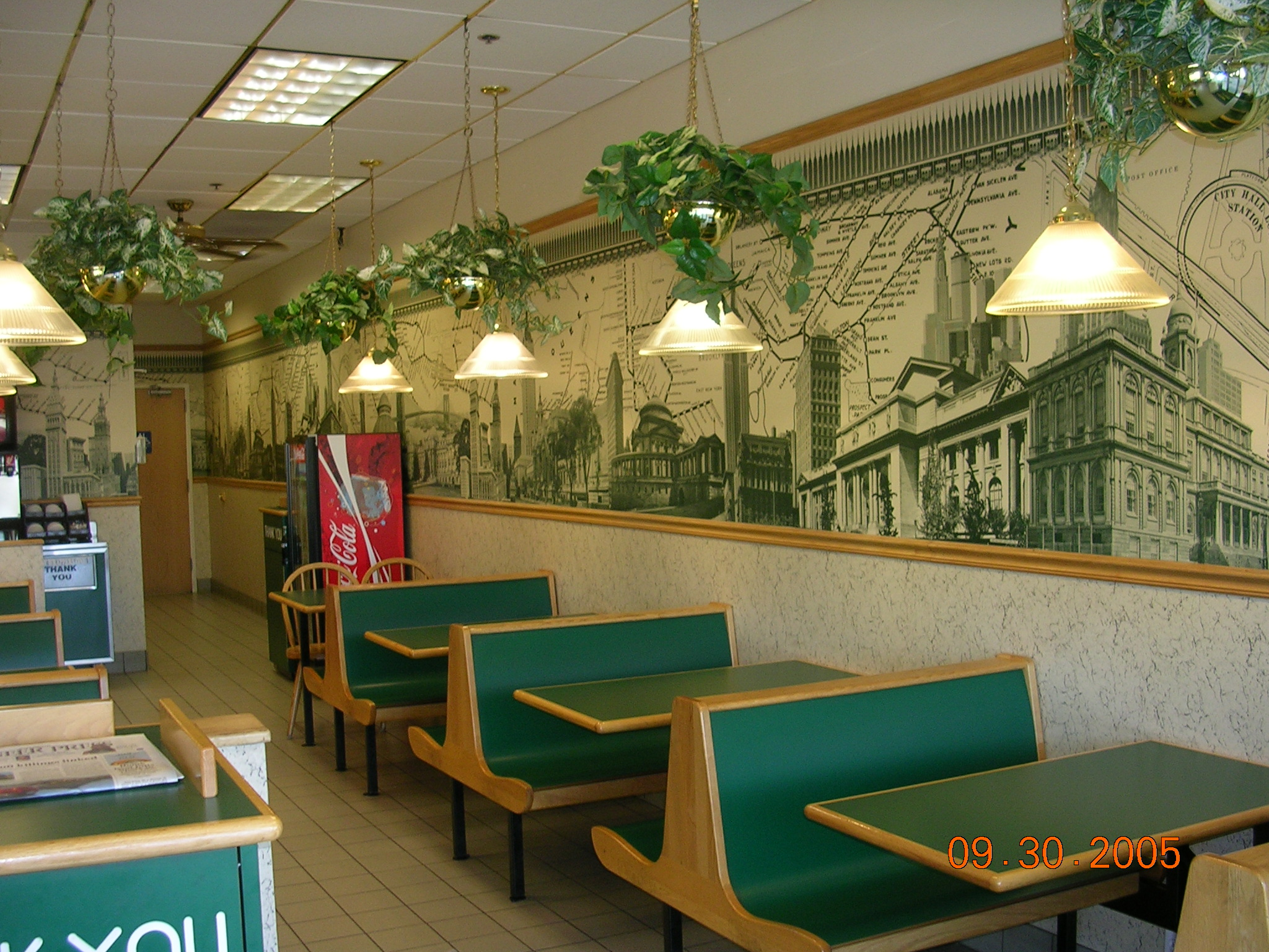 Car Wallpaper Border Download Subway Restaurant Wallpaper Gallery