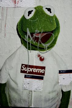 Wallpaper Para Iphone Download Supreme Kermit Wallpaper Gallery