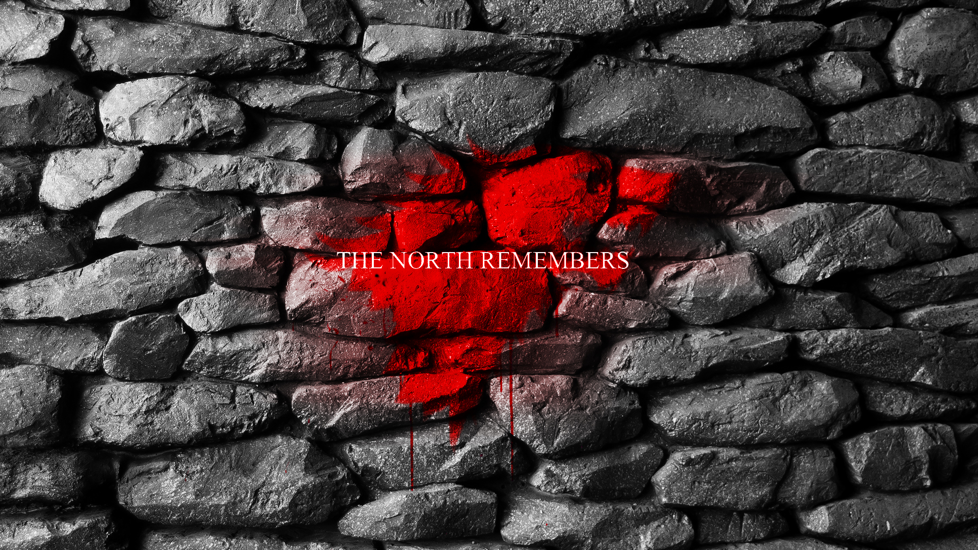 Wallpaper Brick 3d Download The North Remembers Wallpaper Gallery