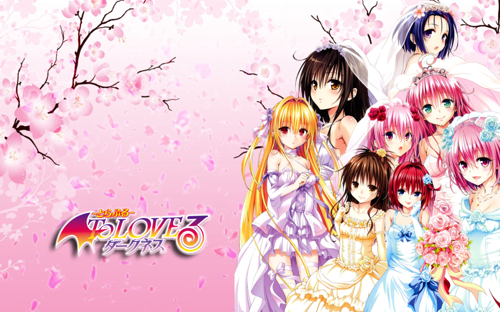 3d Live Birthday Wallpaper Download To Love Ru Darkness Wallpaper Gallery