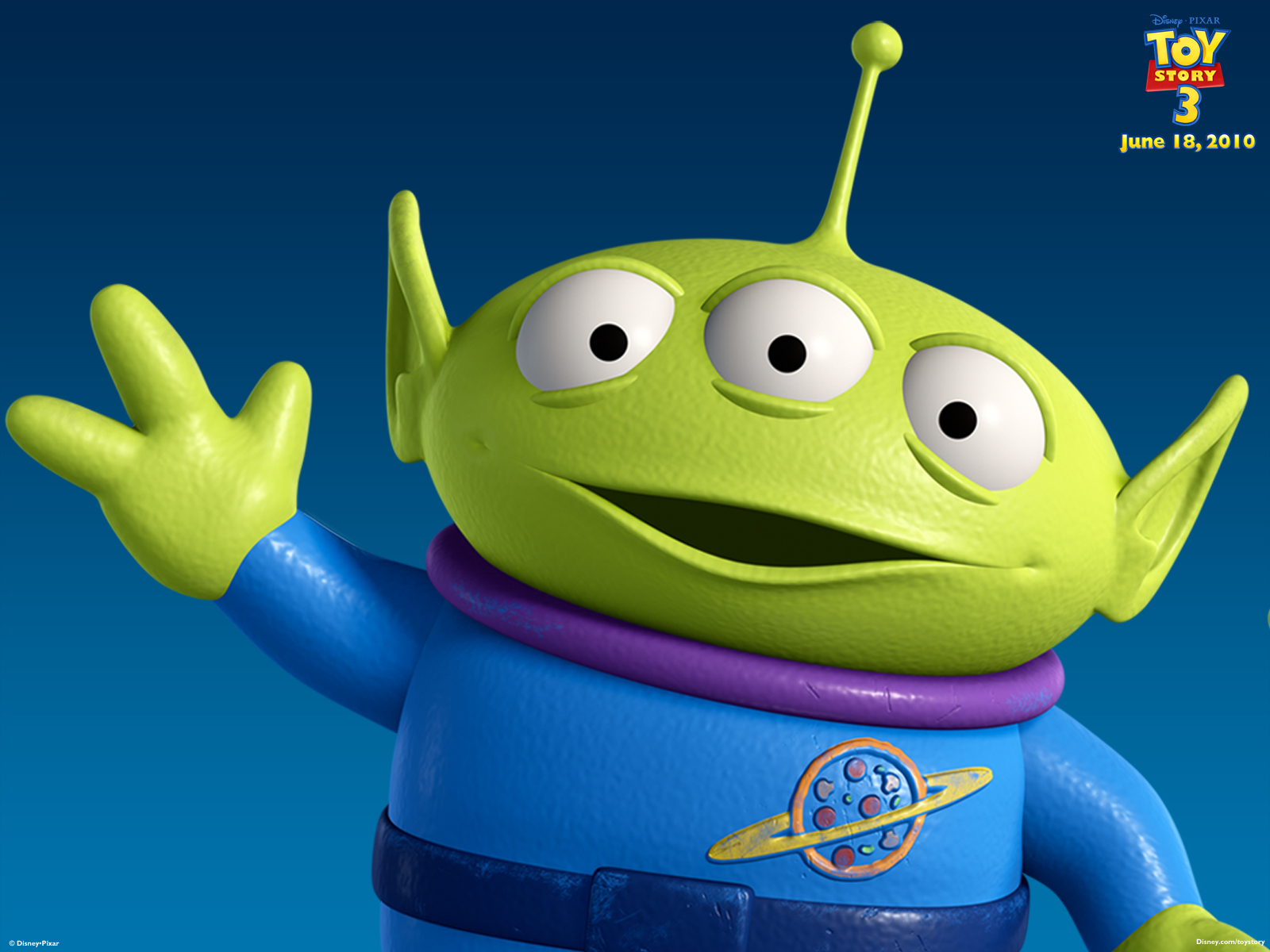 3d Hd Live Wallpaper For Android Phone Download Toy Story Alien Wallpaper Gallery