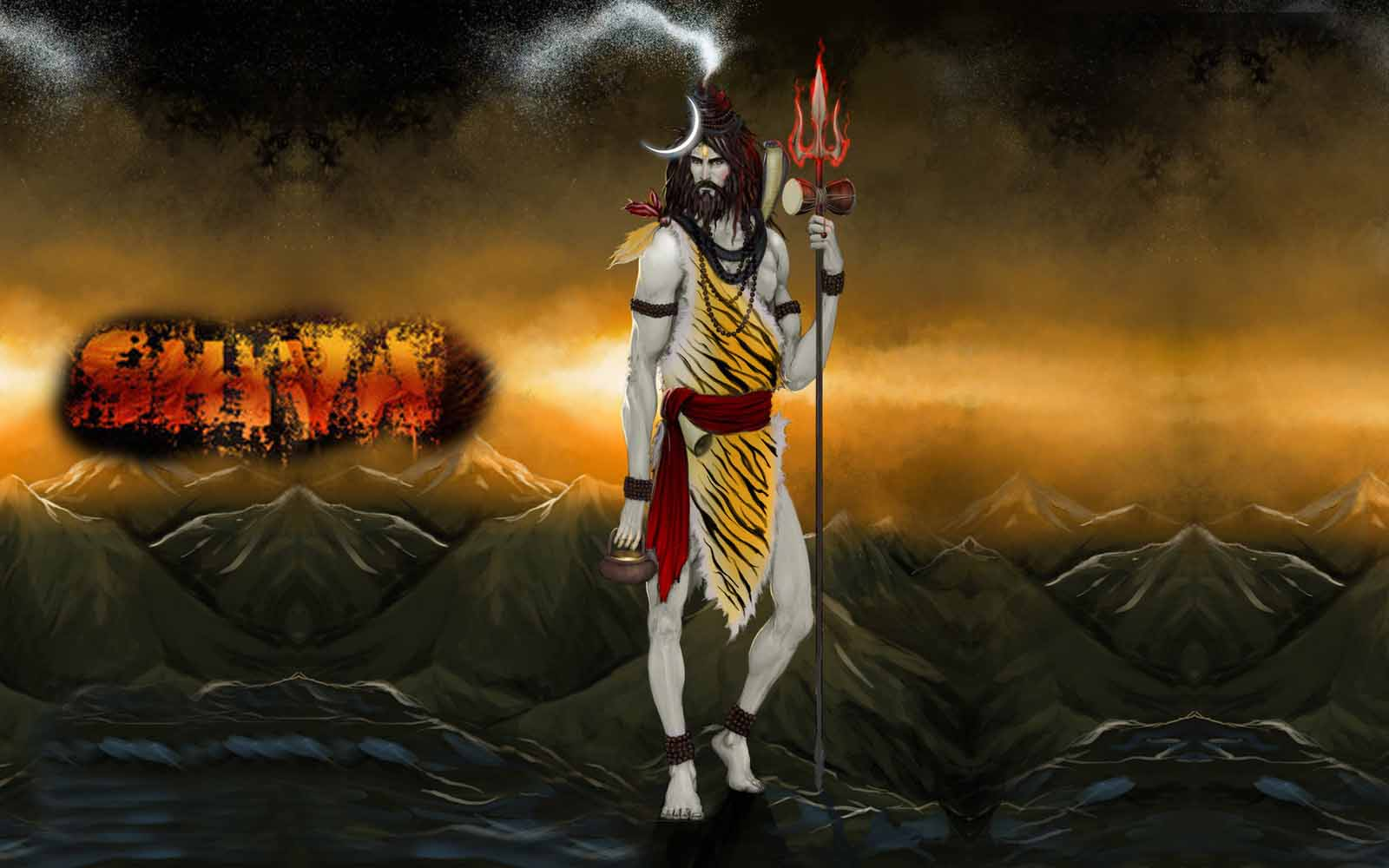 Lord Shiva 3d Live Wallpaper For Android Download Trishul Wallpaper Download Gallery