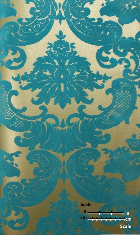 Iphone 4 Animated Wallpaper Download Turquoise And Gold Damask Wallpaper Gallery