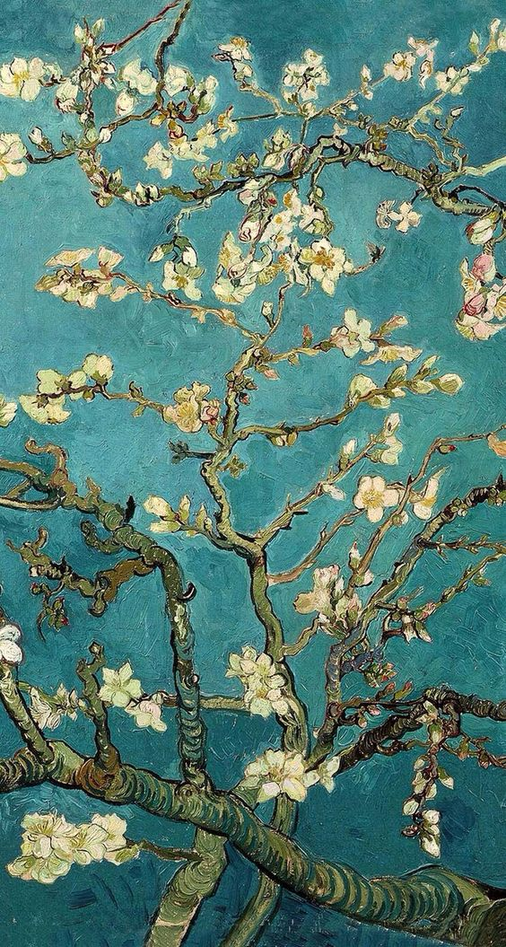 Black And White Phone Wallpaper Download Van Gogh Almond Blossom Wallpaper Gallery