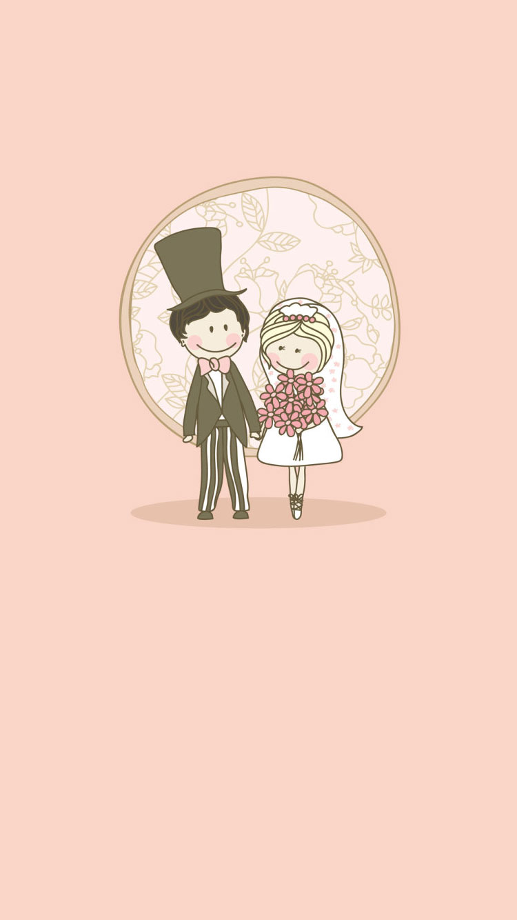 Cute Marriage Couple Wallpaper Download Wallpaper Lucu Pink Gallery