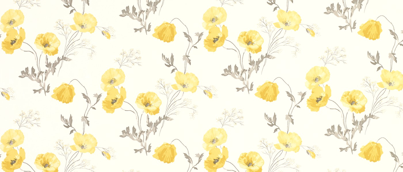 Download Yellow Floral Wallpaper Gallery