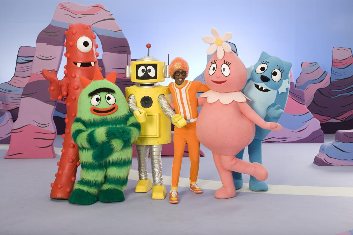 Good Evening Wallpaper Quotes Download Yo Gabba Gabba Wallpaper Gallery