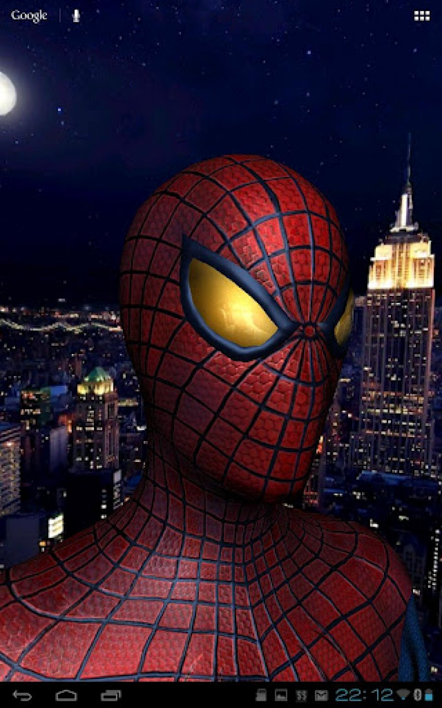 Free Hd Live Wallpapers For Android Download Amazing Spiderman Live Wallpaper Gallery