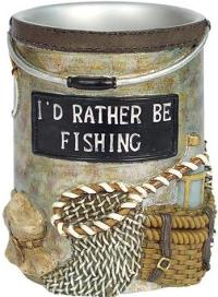 Fishing Lodge bathroom Cup Tumbler