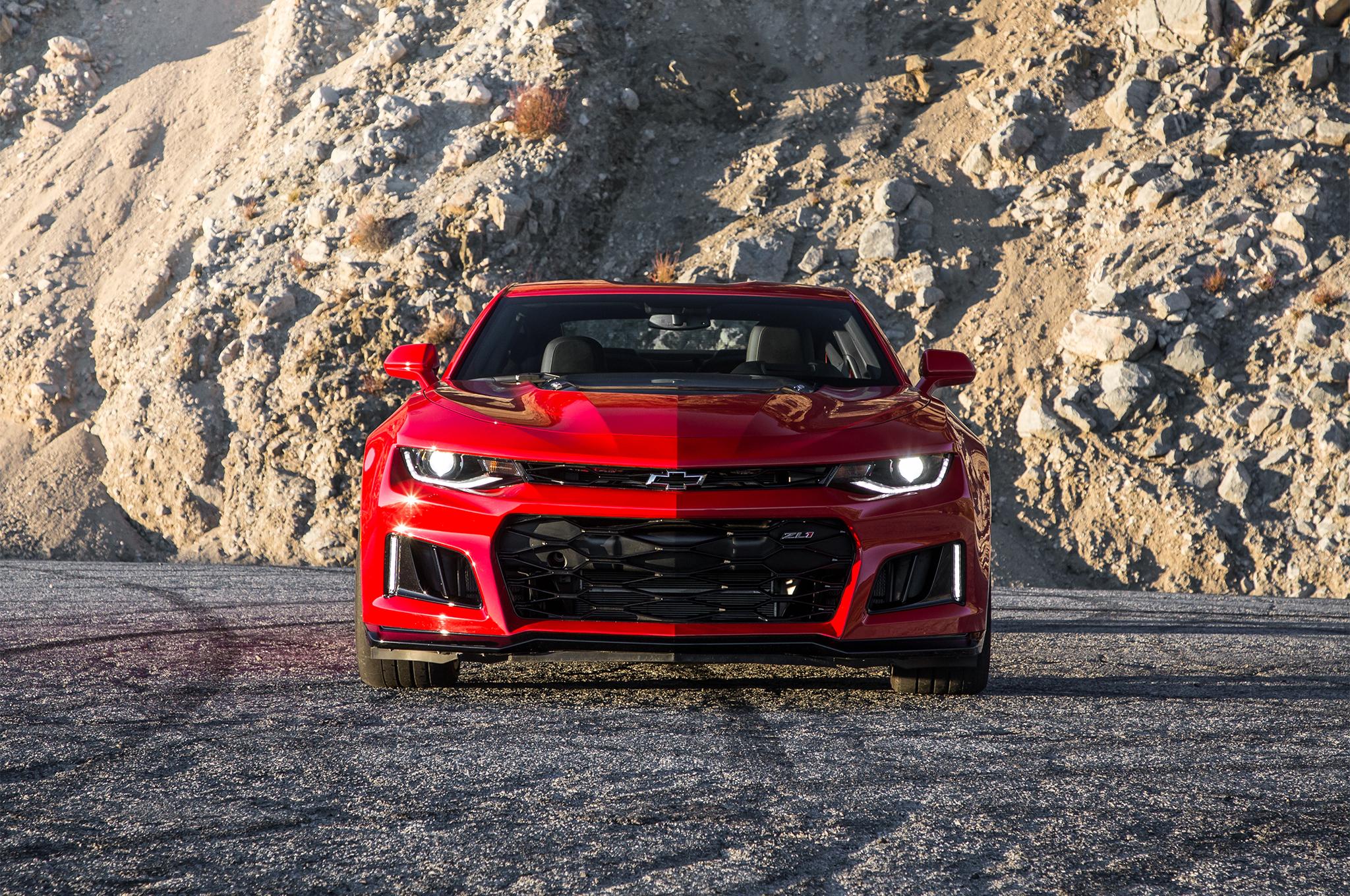 2017 Ford Raptor Hd Wallpaper 2017 Chevrolet Camaro Zl1 Red Wallpaper Hd Wallpaper