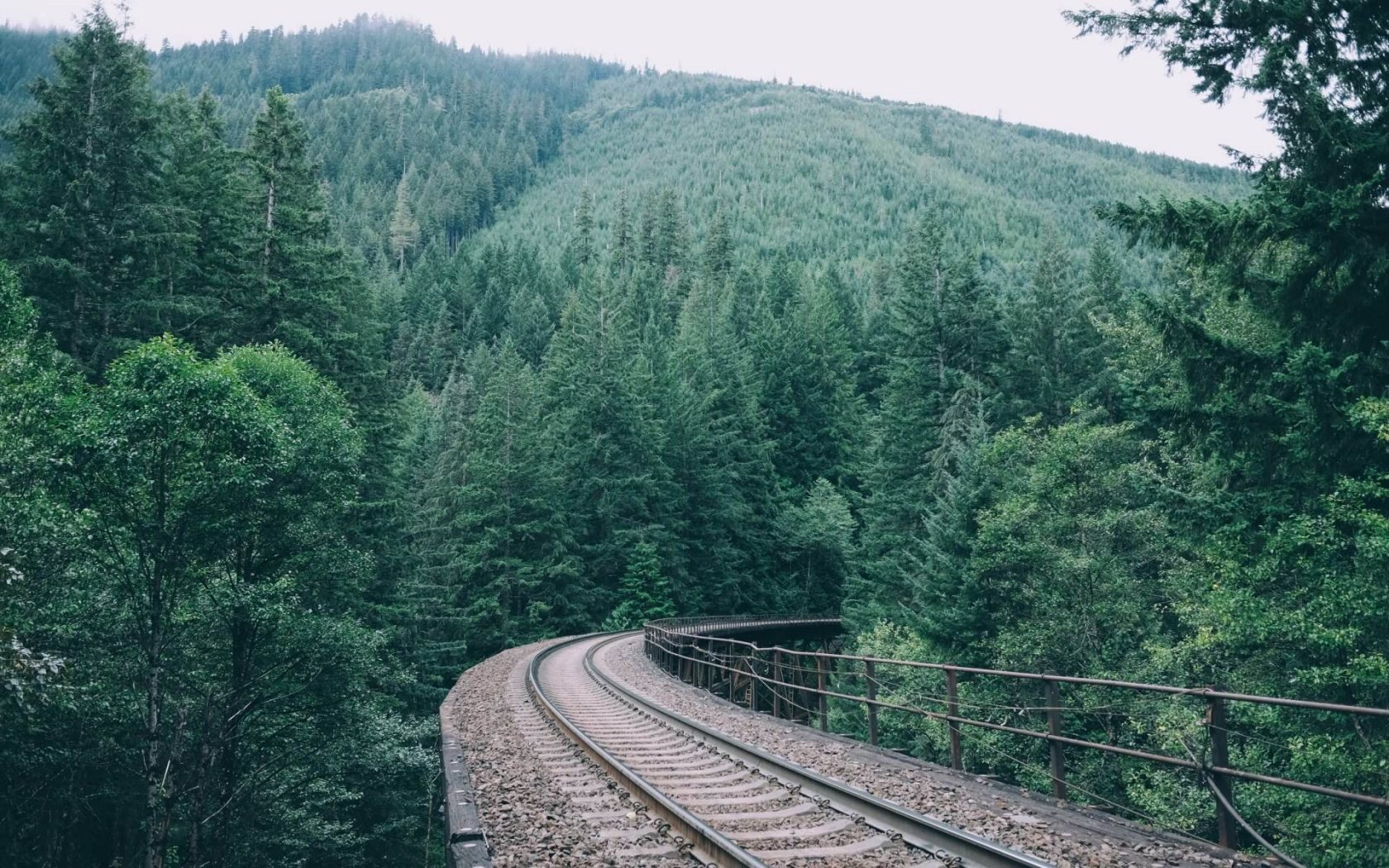 Hd Nature Phone Wallpapers Train Track Wallpaper Background Hd Wallpaper Background