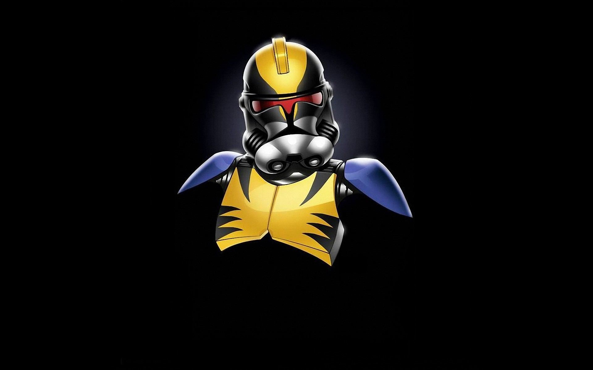 3d Wallpaper Star Wars Star Wars Minimalistic Stormtroopers Wolverine Marvel