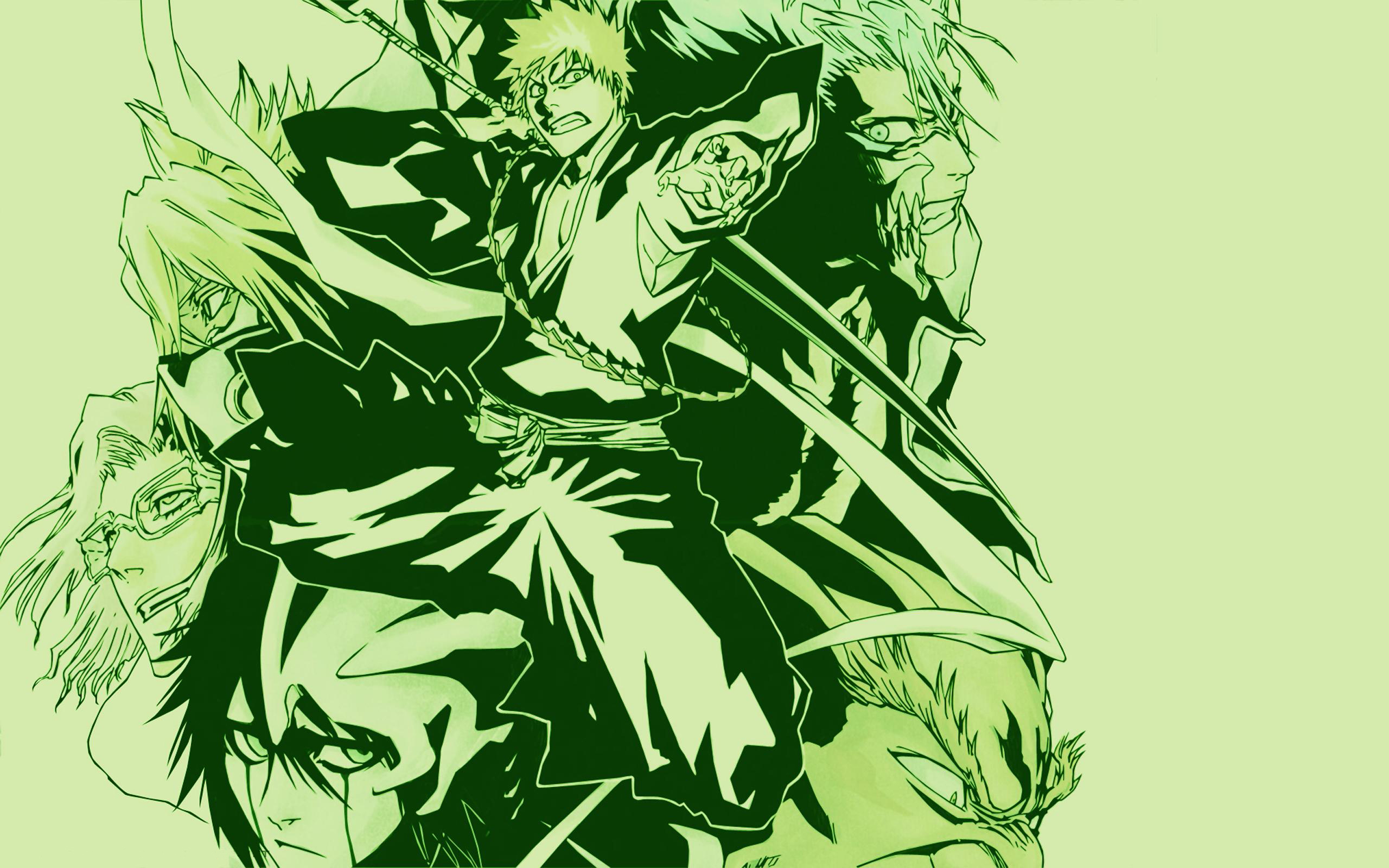 Chevron Quote Wallpaper Bleach Kurosaki Ichigo Tia Harribel Espada Grimmjow