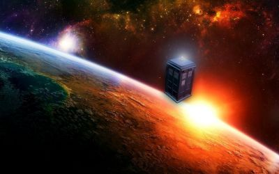 Tardis doctor who space art wallpaper | 2560x1600 | 20307 | WallpaperUP