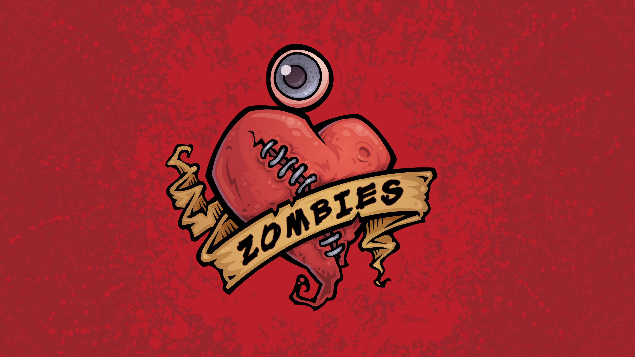 Cute Black Wallpaper Dark Horror Heart Love Romance Zombie Wallpaper