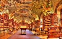 Hdr photography library books interior design wallpaper ...