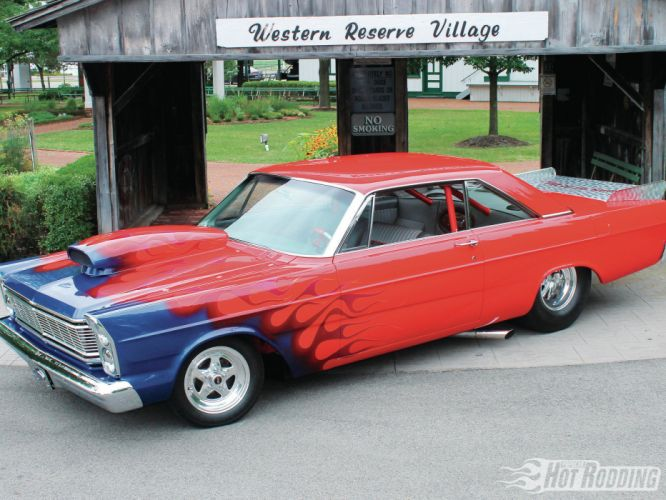 4k Resolution 4k Car Wallpaper 1965 Ford Galaxie 500 Drag Racing Hot Rods Muscle Car Race