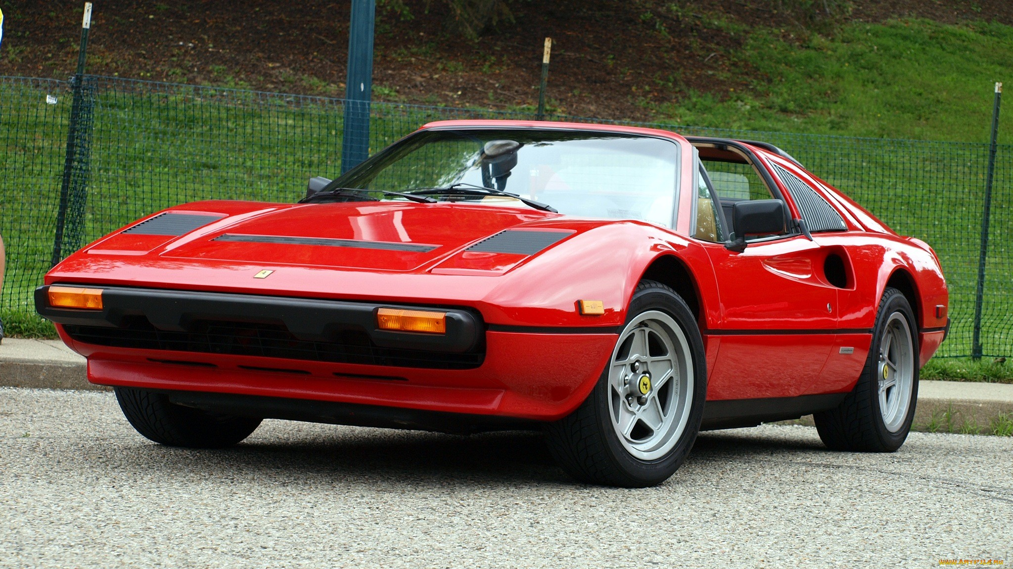 Super Hd Wallpapers Ferrari 308 Supercar Red Roads Wallpaper 2048x1152