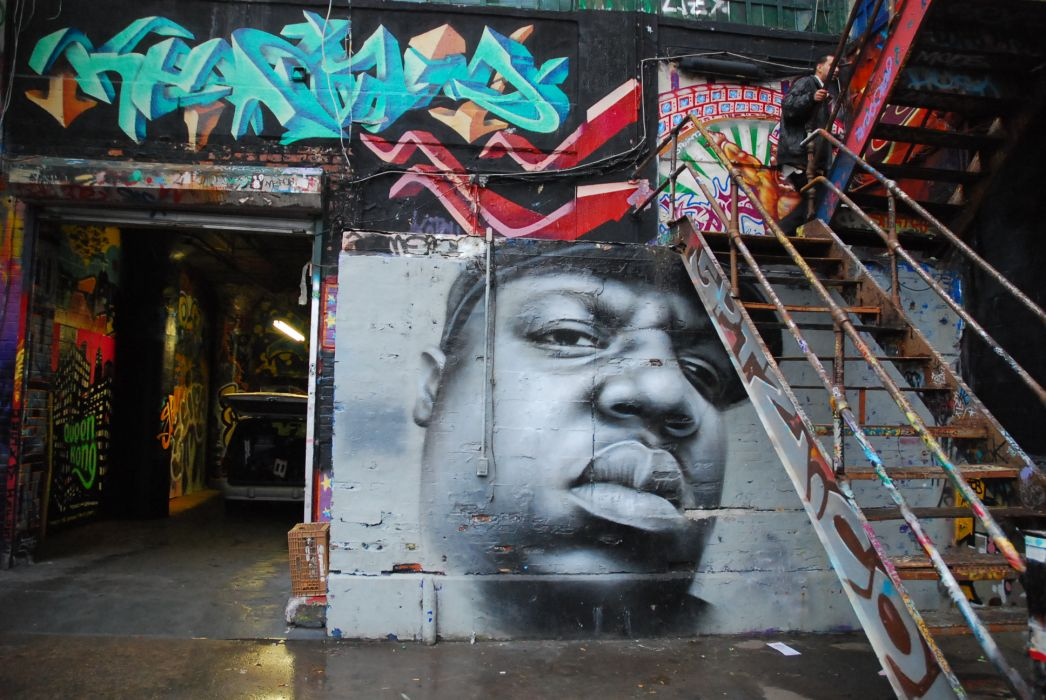 Rich Quotes Wallpaper Biggie Smalls Rap Gangsta Graffiti Wallpaper 1936x1296
