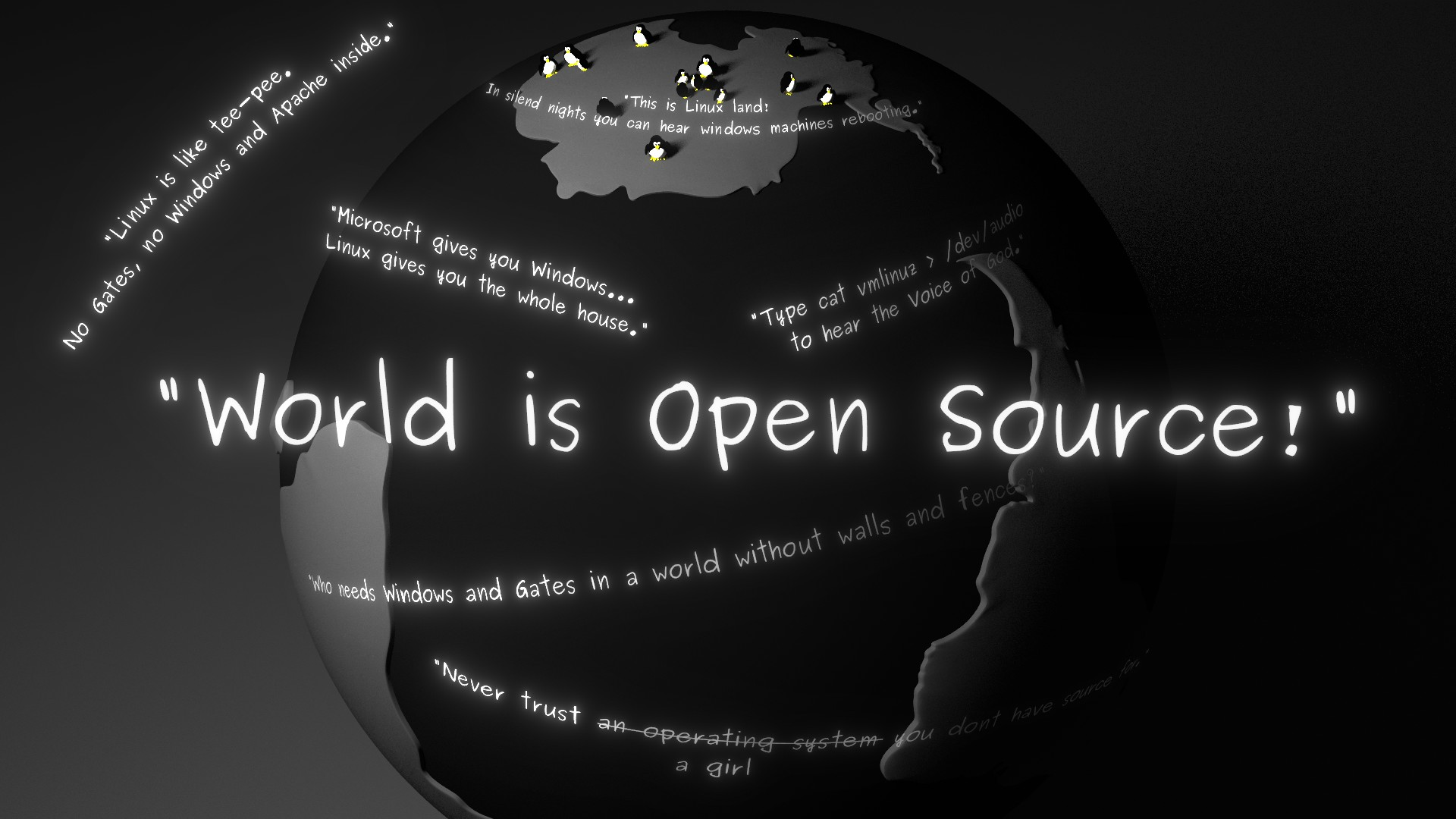 Kali Linux Quote Wallpaper Linux Quotes Quotesgram