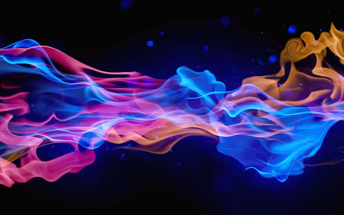 Fire Wallpaper Hd Abstraction Color 3d Smoke Wallpaper 1920x1200 69773