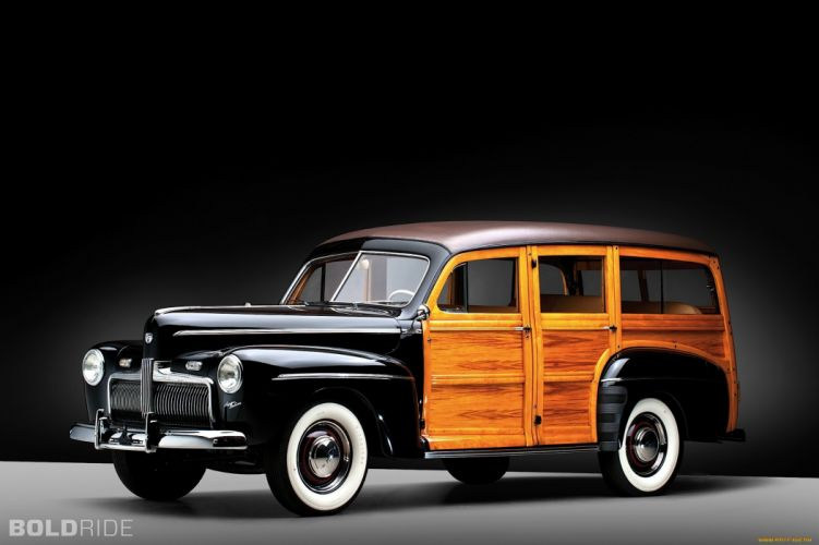 Wallpaper Super Cars Download 1942 Ford Super Deluxe Woody Station Wagon Classic Cars