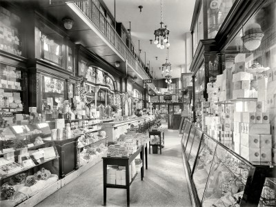 Soda Shop BW Store buildings interior room retro wallpaper | 1920x1440 | 79575 | WallpaperUP