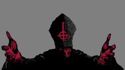 Cross religion album covers upside down Ghost wallpaper | 1600x900 | 81858 | WallpaperUP
