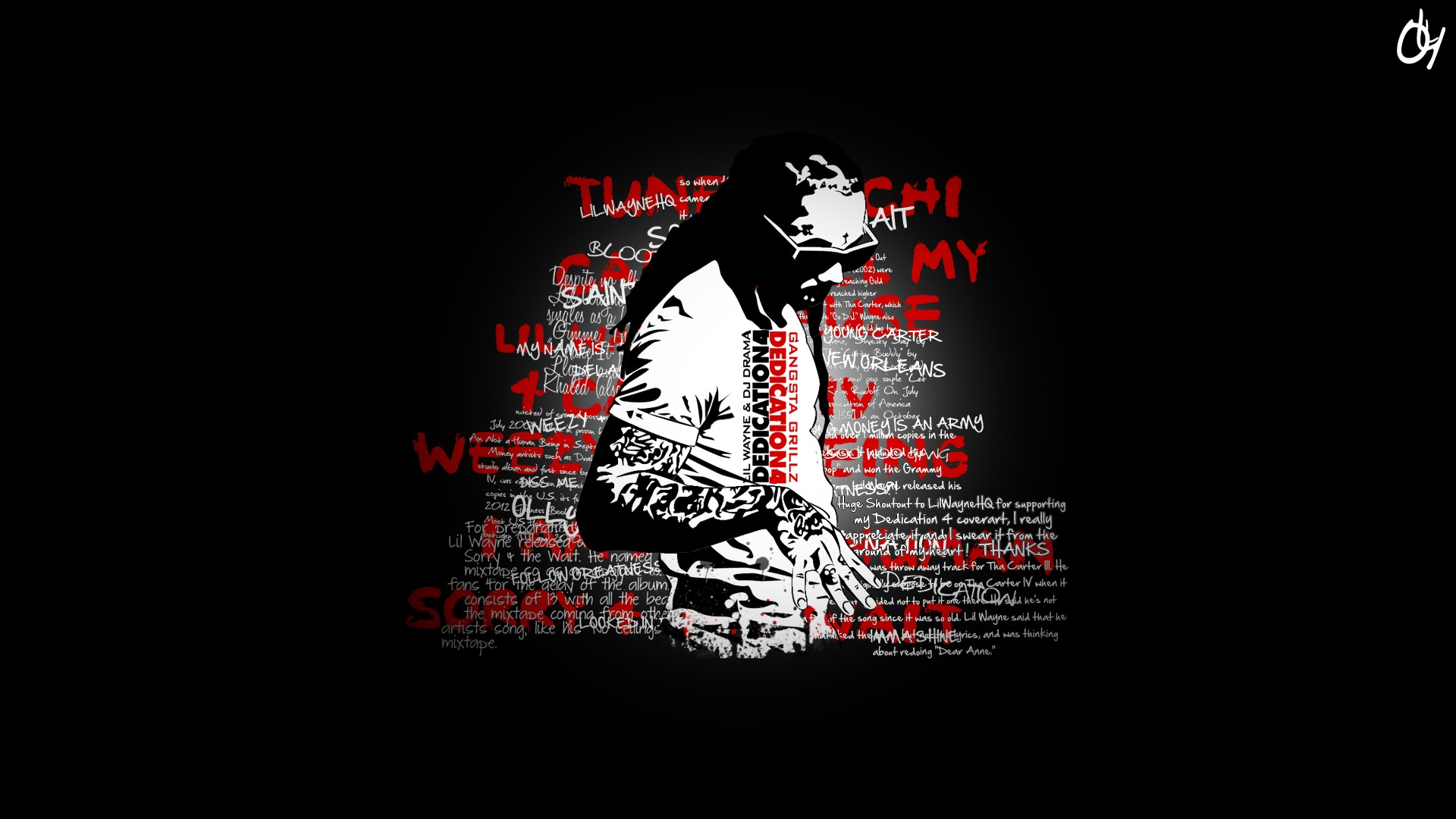 Chevron Quote Wallpaper Lil Wayne Hip Hop Rap Wallpaper 1920x1080 98371