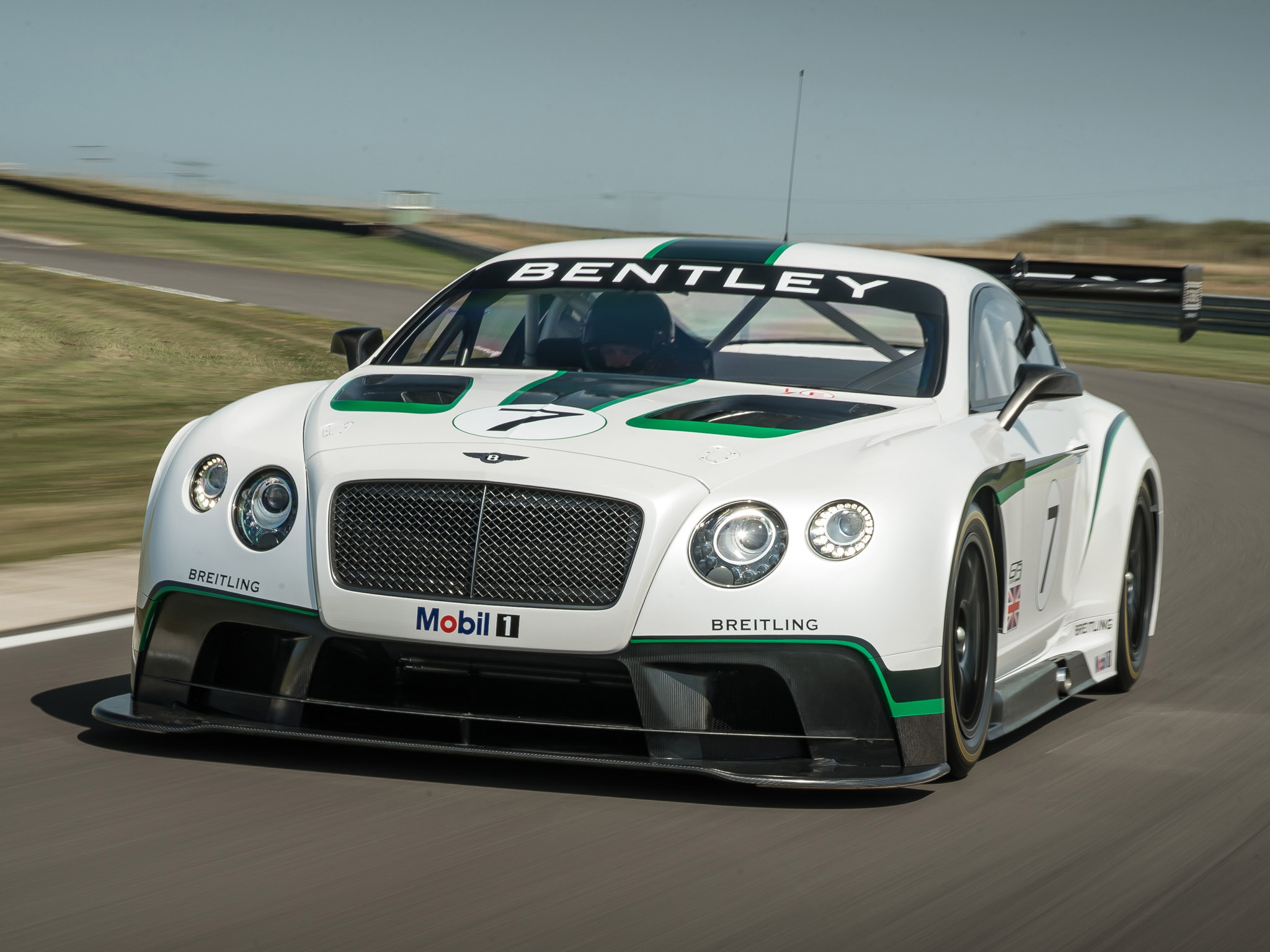 Luxury Car Pictures Wallpaper 2013 Bentley Continental Gt3 Supercar Supercars Race