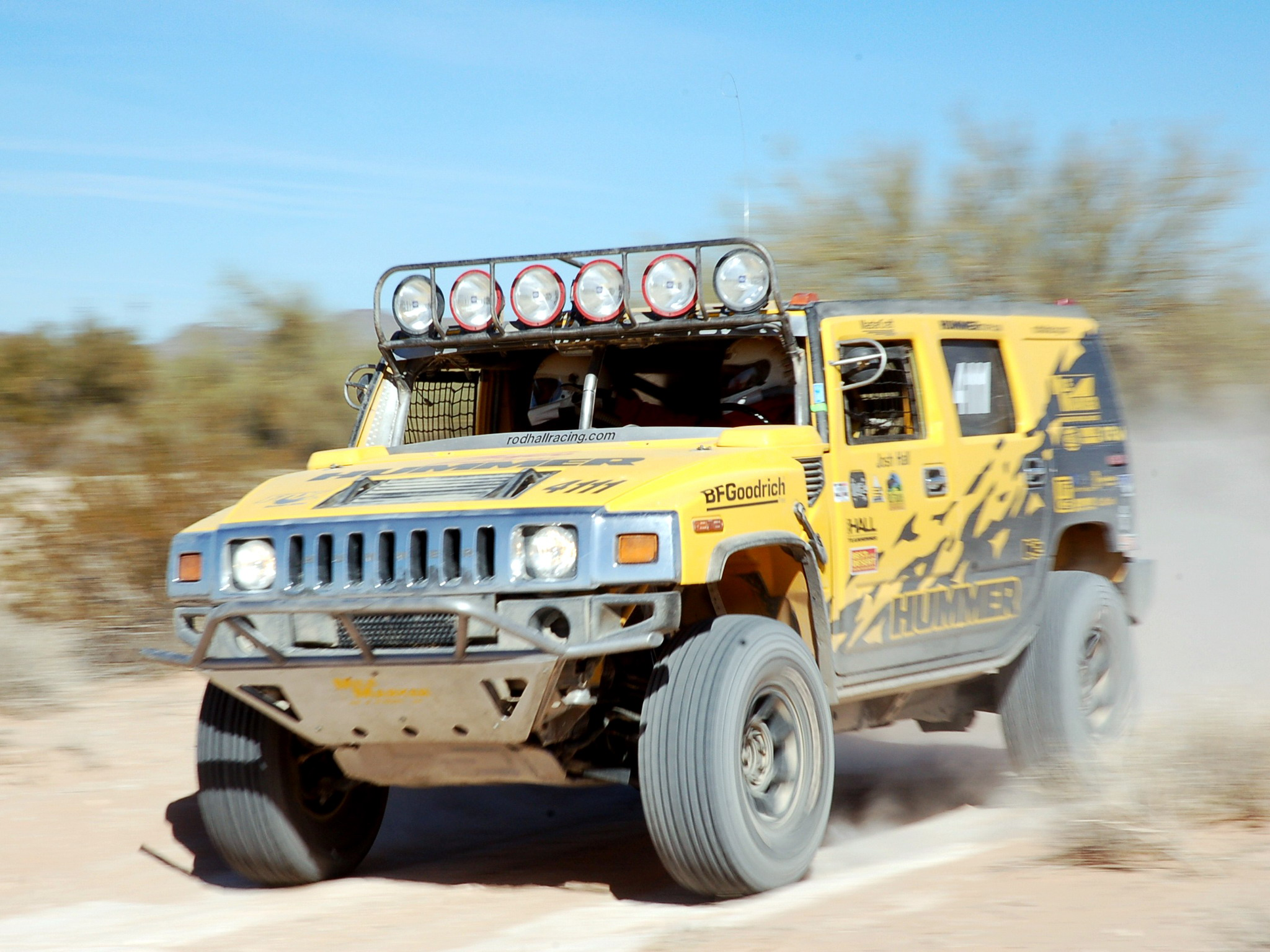 2048x1536 Car Wallpapers 2007 Hummer H2 Race Truck Racing Offroad 4x4 Suv F