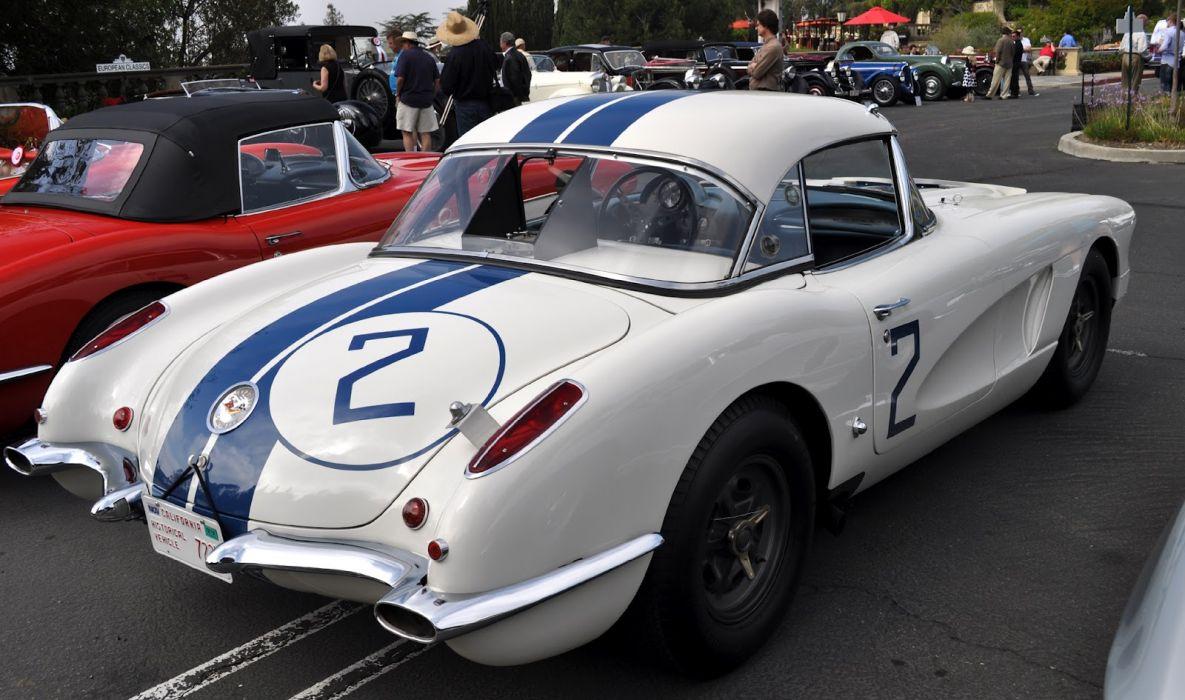 Race Car Wallpaper Images 1960 Chevrolet Corvette Le Mans Supercar Supercars Muscle