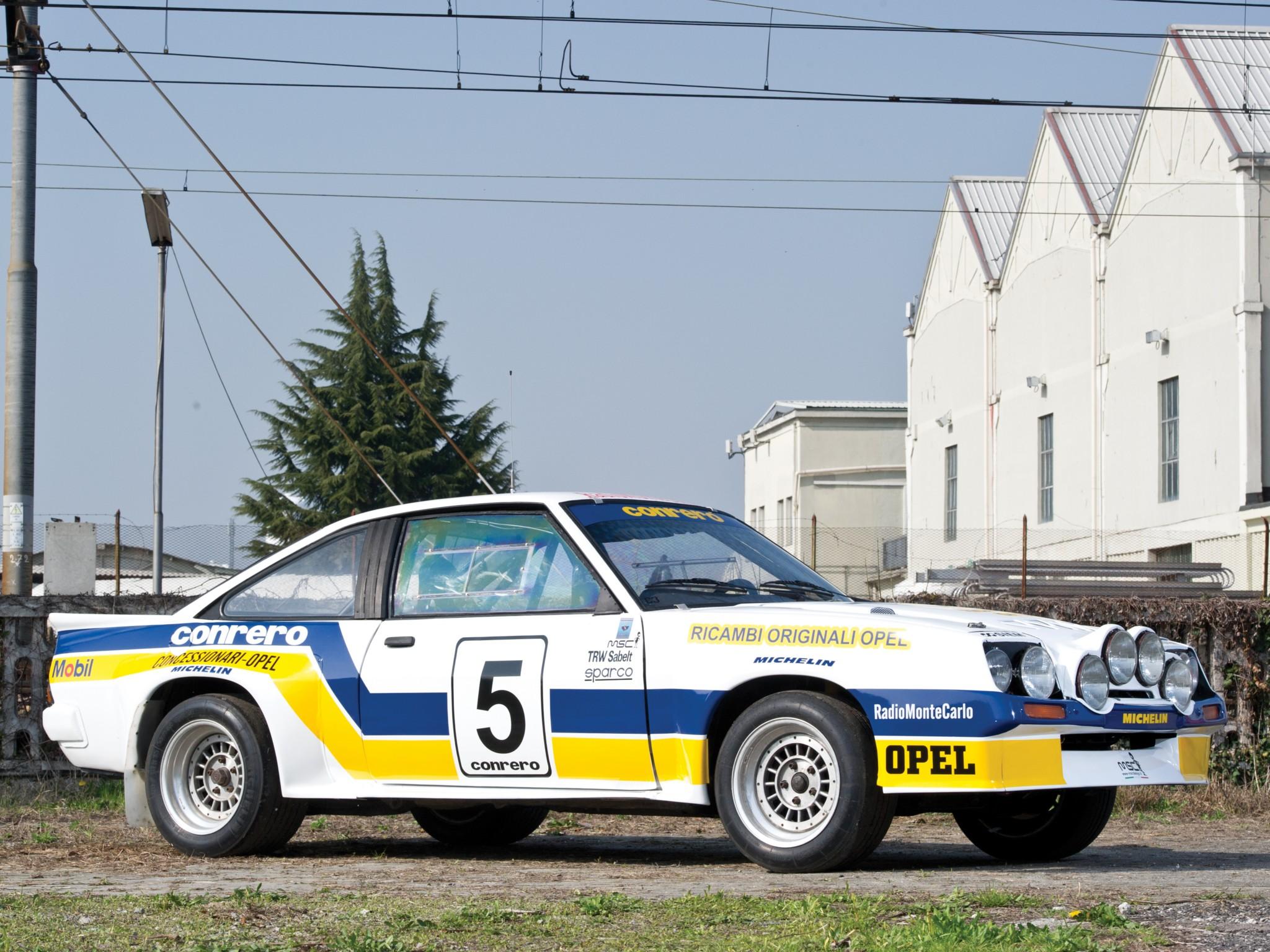 Group B Rally Cars Wallpapers 1981 Opel Manta 400 Group B Rally Race Racing Wallpaper
