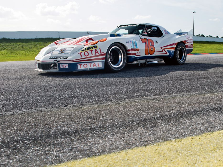 Free Classic Car Wallpaper 1976 Greenwood Chevrolet Corvette Imsa Racing Coupe C 3