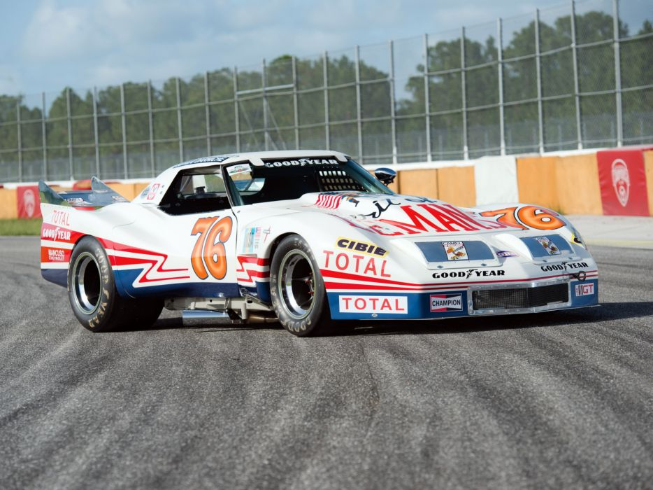 Classic Car Wallpaper 57 Chevy 1976 Greenwood Chevrolet Corvette Imsa Racing Coupe C 3