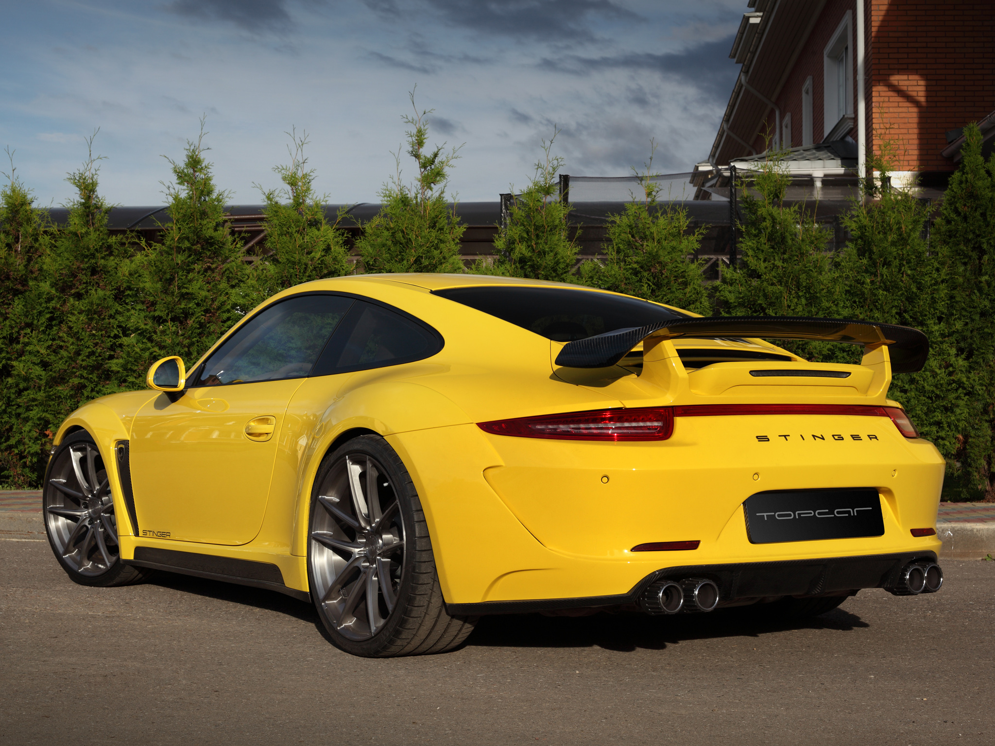 Small Size Car Wallpapers 2013 Topcar Porsche 911 Carrera Stinger 991 Tuning