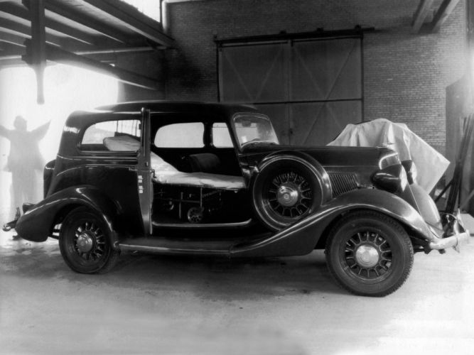 2560x1440 Wallpaper Cars 1934 Studebaker Dictator St Regis Brougham Mini Ambulance