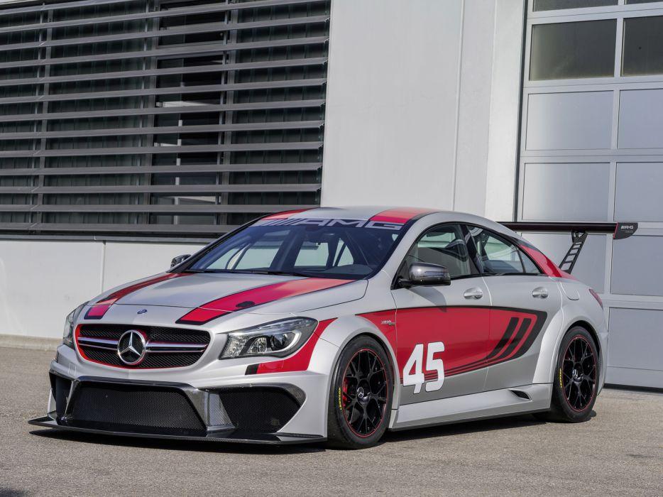 Cars 2 Wallpaper 2013 Mercedes Benz Cla 45 Amg C117 Concept Race Racing Cla