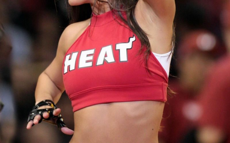 Windows 10 Wallpaper Hd 3d For Desktop Miami Heat Cheerleader Basketball Nba F Wallpaper