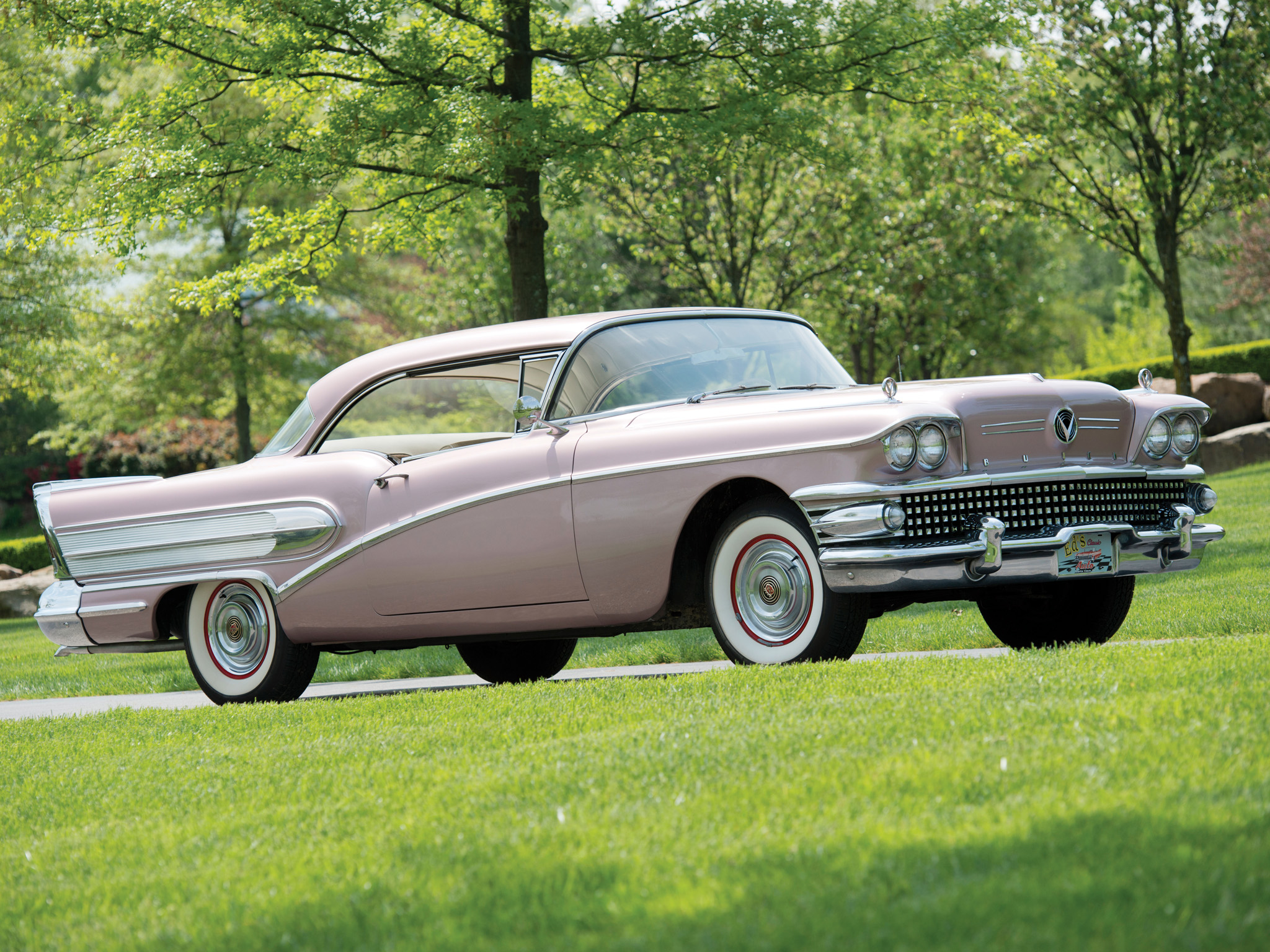 Cars 2 Wallpaper 1958 Buick Special Riviera Hardtop Coupe 46r Retro