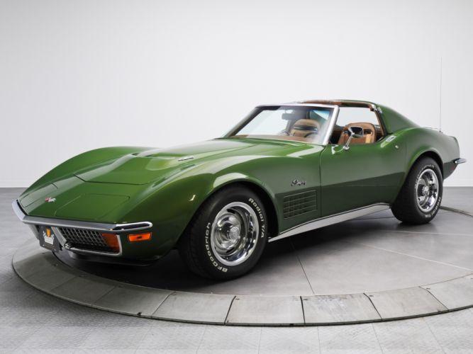 4k Resolution 4k Car Wallpaper 1970 Chevrolet Corvette Stingray 454 C3 Supercar Muscle