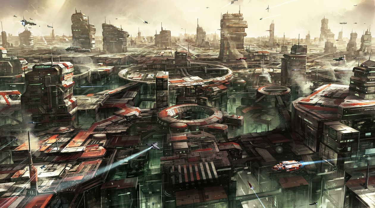 The Cars Wallpaper For Birthday Star Citizen Sci Fi Spaceship Game City F Wallpaper