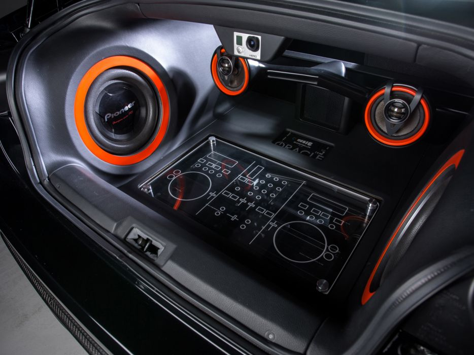 Small Size Car Wallpapers 2014 Scion Fr S Steve Aoki Art Car Tuning Interior Speaker