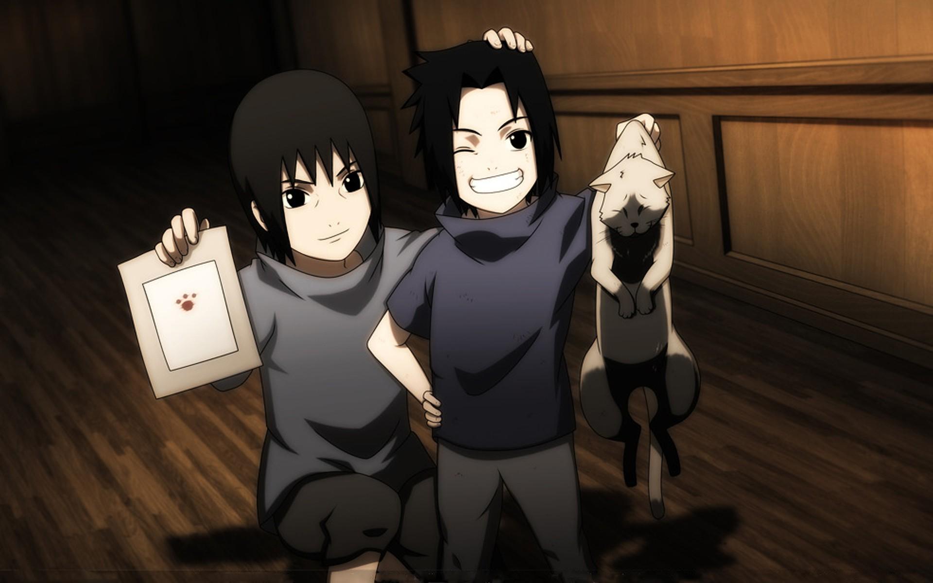 Anime Wallpaper Naruto Shippuden Cats Uchiha Sasuke Naruto Shippuden Uchiha Itachi Anime
