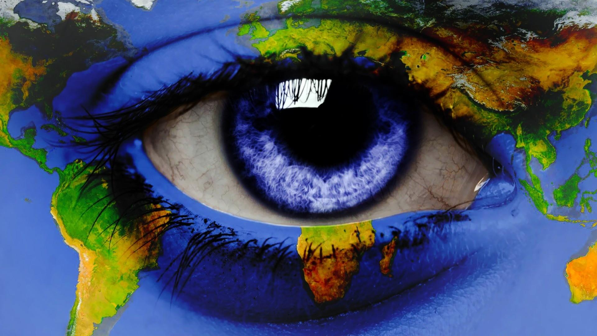 Girl Face Wallpaper 5k Close Up Eyes Blue Eyes World Map Eye Wallpaper