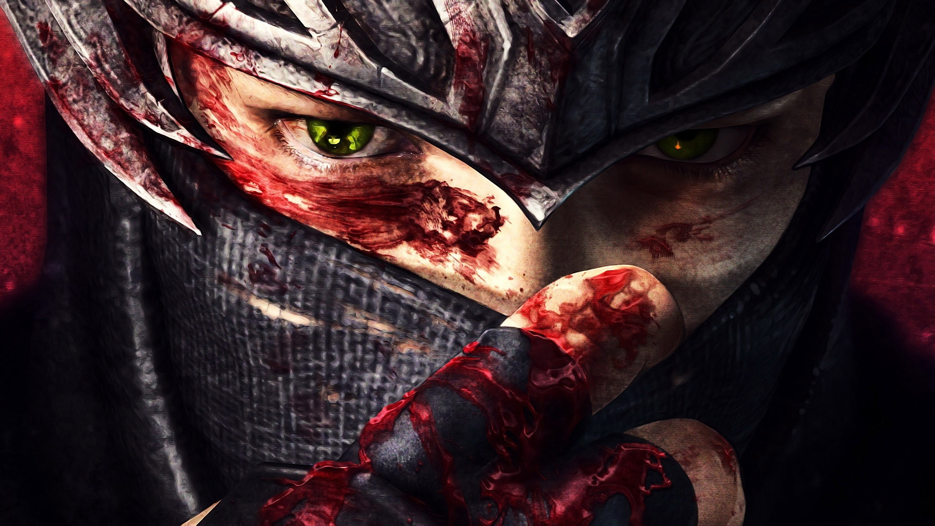 Danger 3d Wallpaper Download Ninja Gaiden Fantasy Anime Warrior Blood Mask G Wallpaper