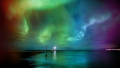 Aurora borealis rainbows wallpaper | 1920x1080 | 217929 | WallpaperUP
