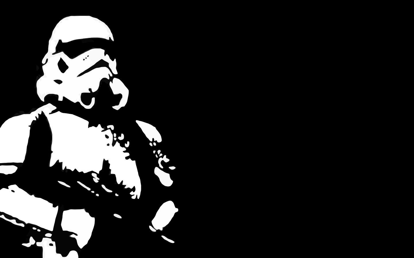 Cute Small Girl Wallpapers For Facebook Star Wars Stormtroopers Black Background Wallpaper